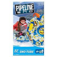 Pipeline Sno Emoji High Emotion Racer Inflatable Snow Tube in Blue Multi