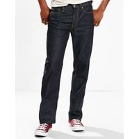 Levi's Men's 514 Straight Fit Jeans In Dark Blue  Denim, 34x32