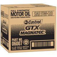 Castrol GTX MAGNATEC 5W20 Motor Oil 1 quart bottles 6 pack