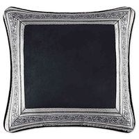 J. Queen New York Guiliana 18Inch Square Throw Pillow in Silver