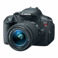 Canon T5i 18MP Digital SLR Bundle with 1855mm IS Lens, 55250mm IS