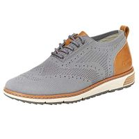 J SPORT Men's Lincoln Oxford Shoes Grey (12)