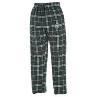 NFL New York Jets  Men's XXLarge Flannel Plaid Pajama Pant with Left Leg Team Logo