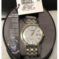 Citizen EcoDrive Men Watch BM746452H in Grey/Gold