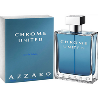 Chrome United by Azzaro 3.4 oz EDT Cologne for Men