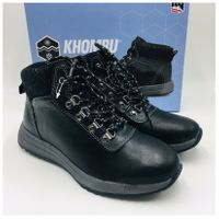 Khombu Ladies Clara Winter Ankle Boots in Black, Size 7