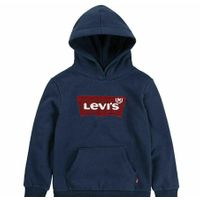 Levi's Boys' Navy Logo Pullover Hoodie Size 7/8