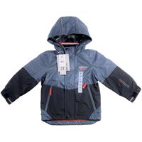 London Fog Boys' 54E18 Poly Lined Jacket Size 3T  Grey Camo
