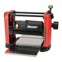 BAUER 15 Amp 121/2 In. Portable Thickness Planer