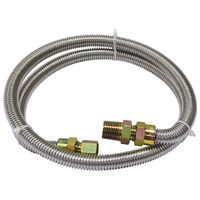 Kenmore 99913 58690 48 inch Gas Connector  1/2 In. MIP x 3/8 In. FIP