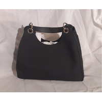 Gucci Black Canvas Hobo Bag