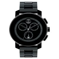 Movado Bold Chronograph Black Bracelet Unisex Watch 3600056