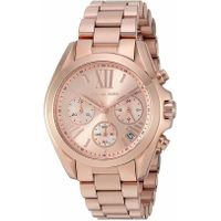 Michael Kors Women's Bradshaw Chronograph Rose Gold Tone Watch MK5799