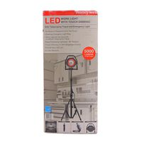 Honeywell LED Work Light with Touch Dimming, Tripod and Emergency Light