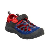 Osh Kosh B Gosh Kids Bump Toe Sandal in Blue Red, Size 5