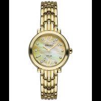 Seiko Women's Tressia Quartz Stainless Steel Casual Watch GoldToned SUP356