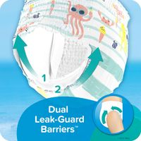 PAMPERS SPLASHERS SWIM DIAPERS  LARGE (31+ LB)  34 CT