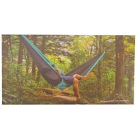EcoTrekker Travel Hammock In Blue Grey